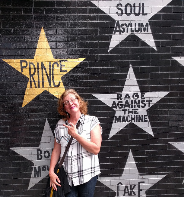Speaking of His Royal Badness, we stopped by First Avenue in June and had a quick moment of Dammit, but He Was Grand.