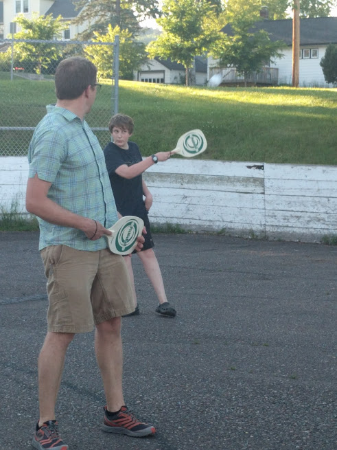We got a pickleball set. These are pickleball paddles. These are boys holding them. Yea, I know you don't know what pickleball is. Don't you wish there was some massive source of easy information right at your fingertips that could help you with this problem?