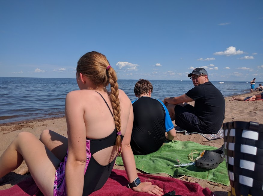 You know what we have in Duluth? The world's longest freshwater sandbar. WINNING.