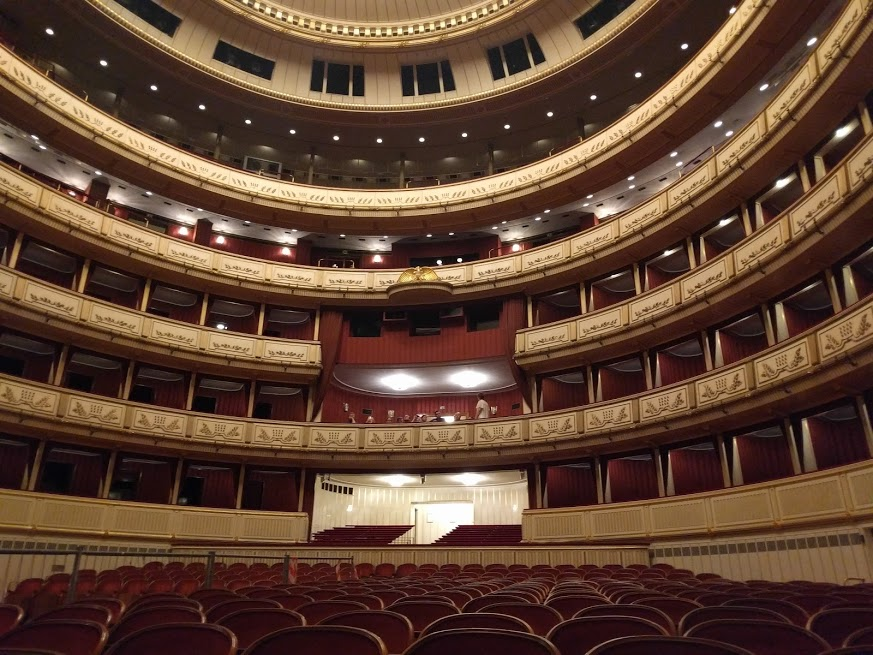 "We LOVED touring the opera house in Vienna. My guess is that at least 345 illicit liaisons have taken place in the boxes over the years. If you ever meet an Austrian girl named ""Opera,"" now you have a mental picture of where she was conceived."