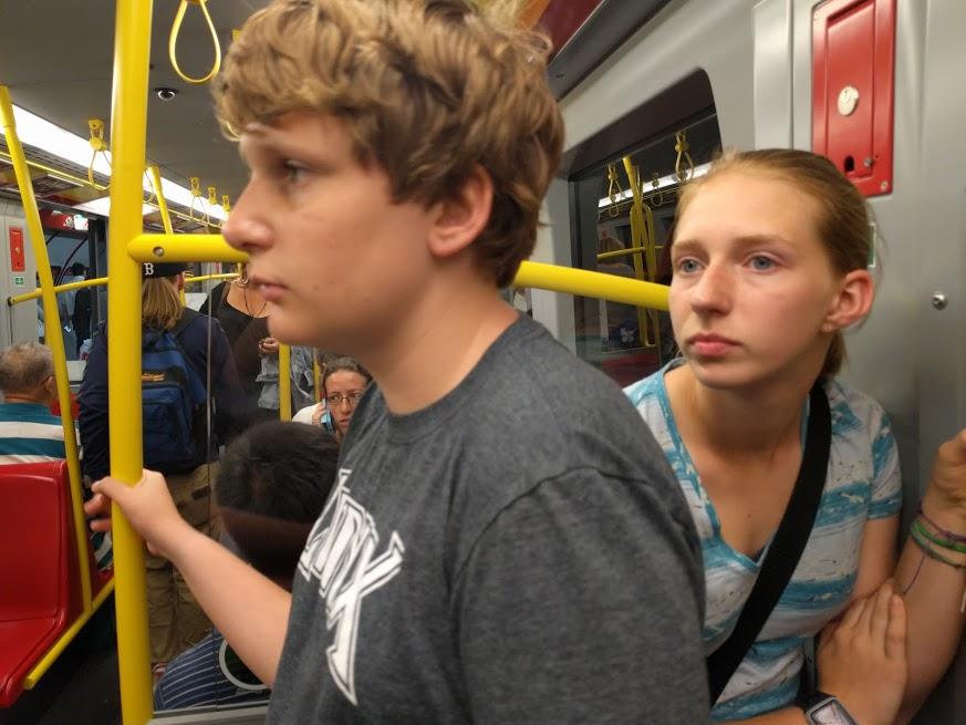 Egad, but we love public transportation.