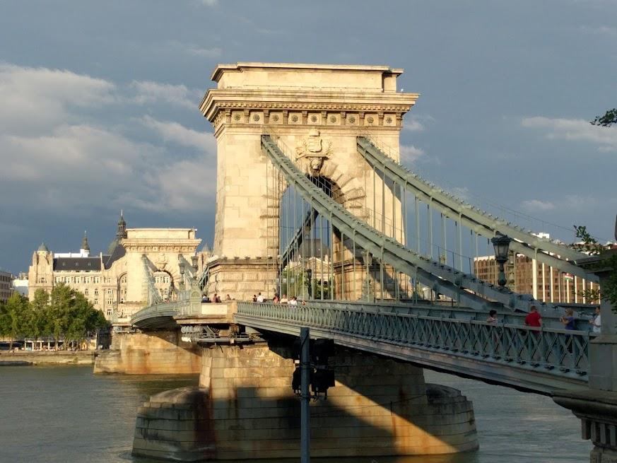 Budapest's bridges got it goin' on.